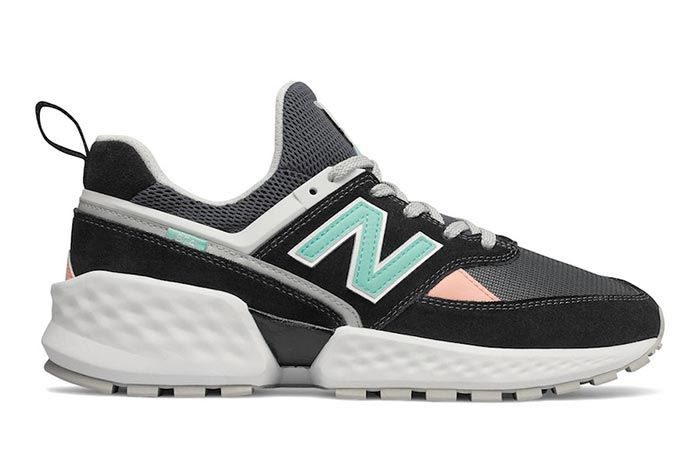 New Balance 574 Sv2 Black Right Side Shot