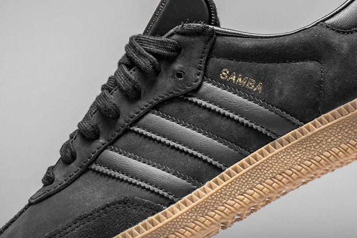 Adidas Samba Black Gum 2