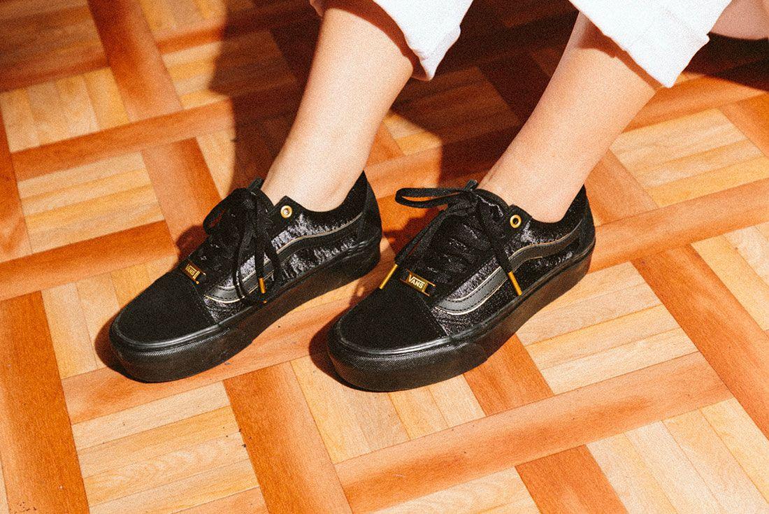 Vans Black Gold Pack 27Jd Sports Exclusive On Foot