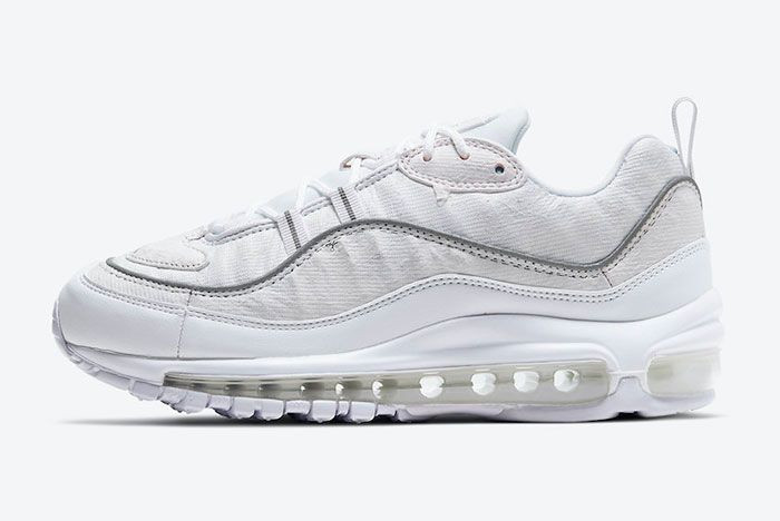 Nike Air Max 98 Tear Away Cj0634 101 Lateral