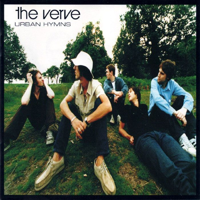 The Verve Urban Hymns Album Cover