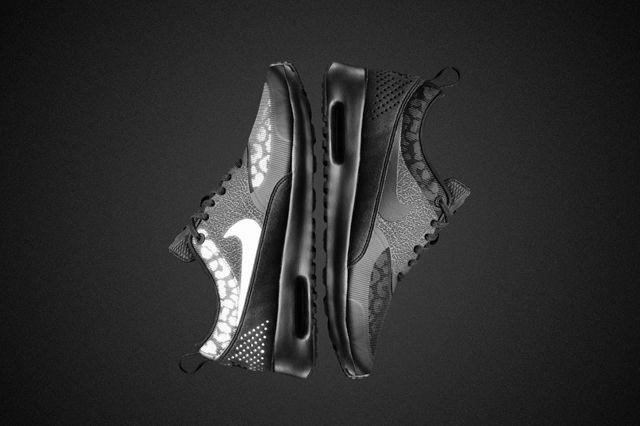 Nike Air Max Black Reflective Collection Air Max Thea