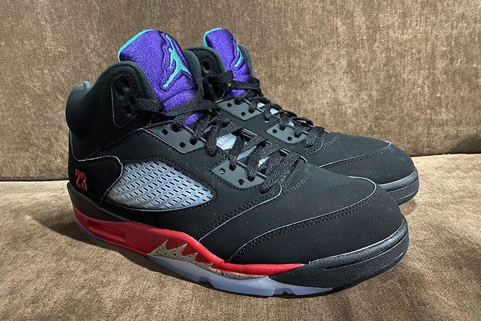 Air Jordan 5 Top 3 2020 Cz1786 001 Release Date Leaked Shots