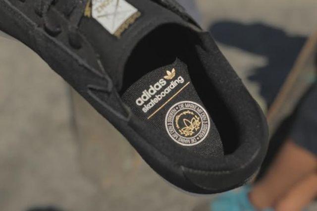Adidas Gonzales Black White 4