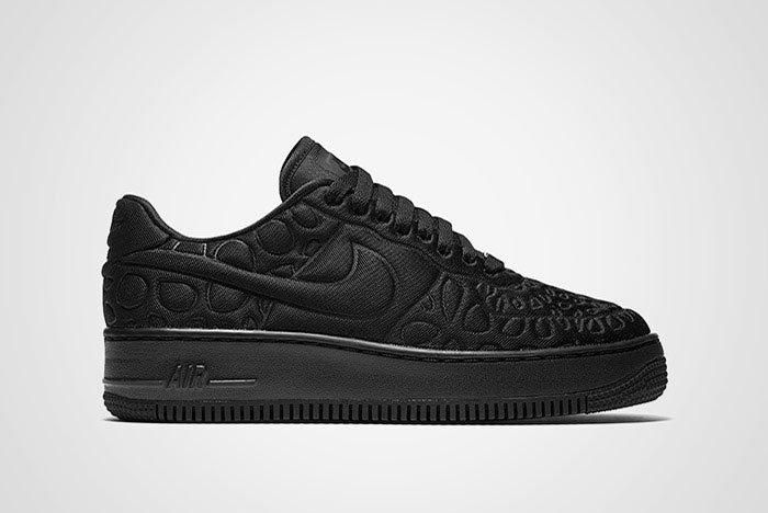 Nike Air Force 1 Upstep Se Black Thumb