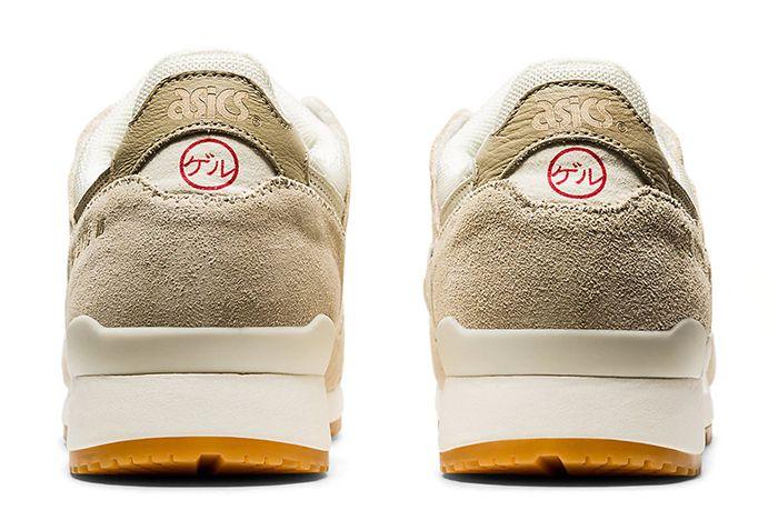 Asics Gel Lyte 3 Ivory Heel