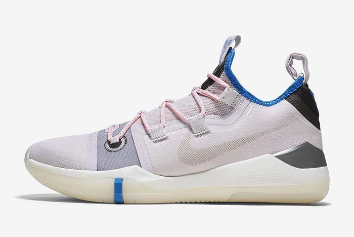 Nike Kobe Ad Light Pink Royal Blue 3