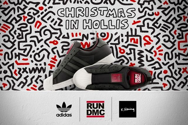 Adidas Superstar Christmas In Hollis 1
