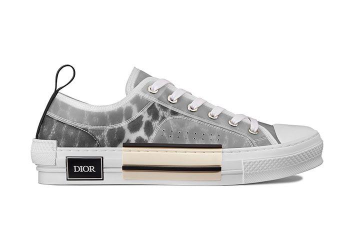 Dior B23 High Top Leopard Print Sneaker 1 Side6