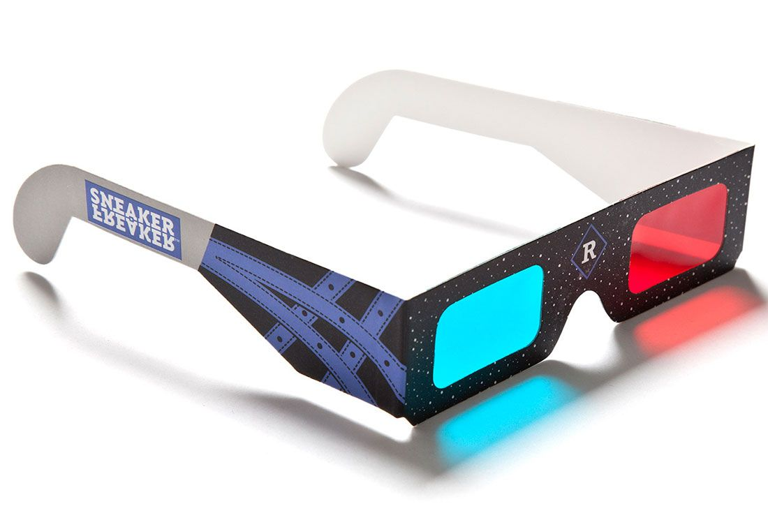 Alvin Purple 3 D Glasses