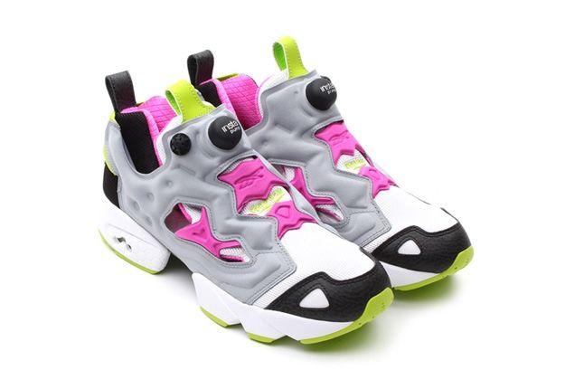 Reebok Pump Fury Fw13 Limited Grey Pink Hero 1