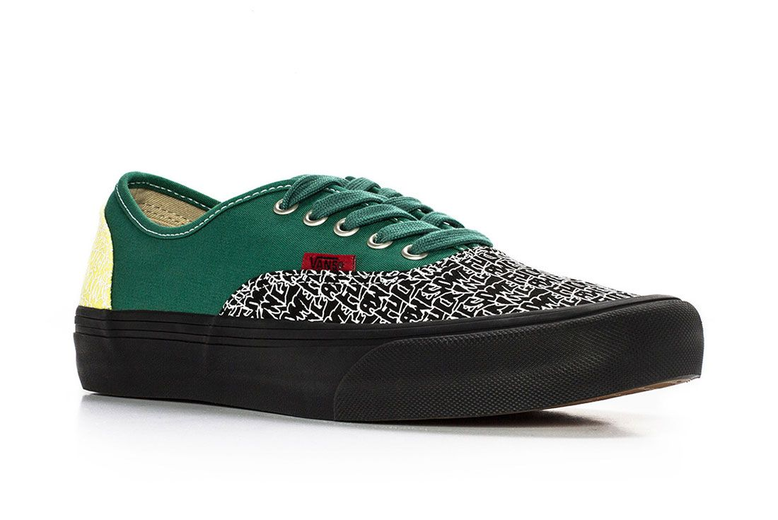 Fucking Awesome Vans Authentic 3 Green Side