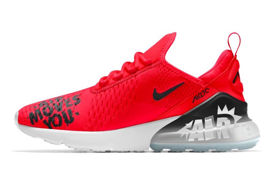 Nikei D Air Max 270 I D Sneaker Freaker
