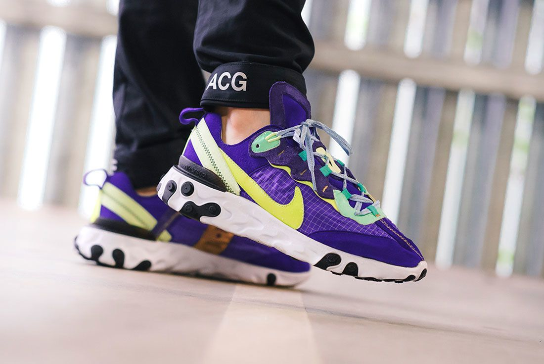 Bespoke Ind Nike React Element 87 Acg On Foot 8
