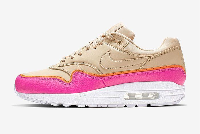 Nike Air Max 1 Layer Pink Left