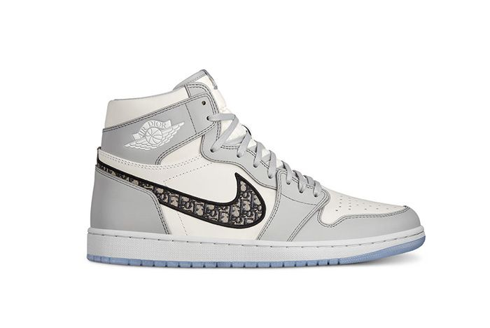 Dior Air Jordan 1 Air Dior Official Nike Images Lateral