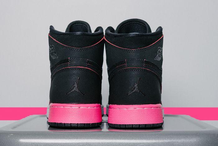 Air Jordan 1 High Gg Black Hyper Pink6