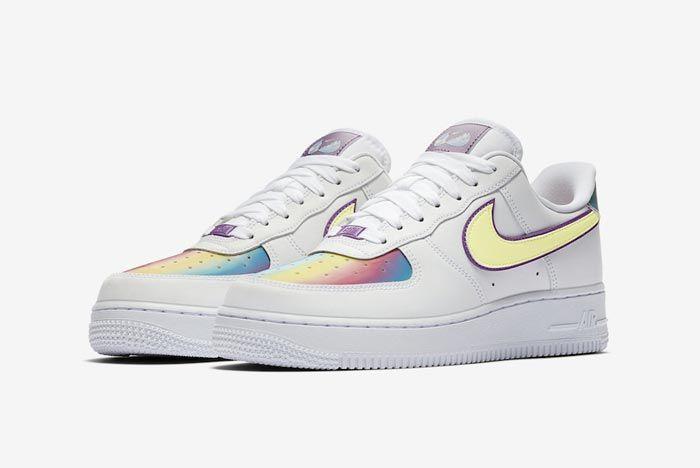 Nike Air Force 1 Easter Pair