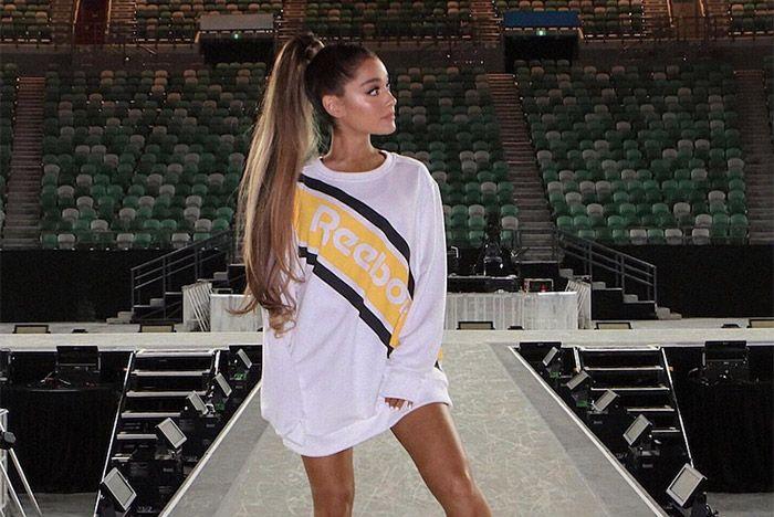 Ariana Grande Signs To Reebok 2