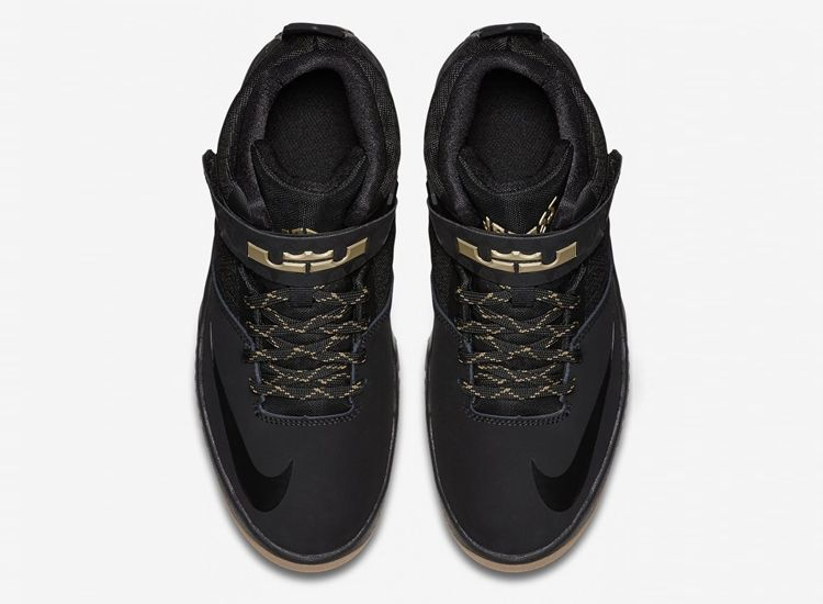 Nike Lebron Aronite Black Gold 5