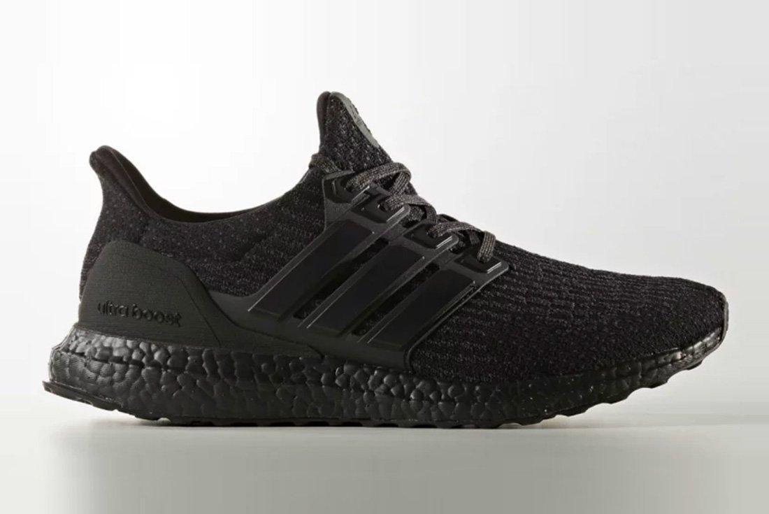 Adidas Ultraboost 3 0 Triple Black 1