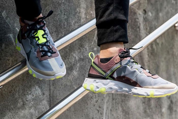 Nike Element React 87 New Colourways Release 2