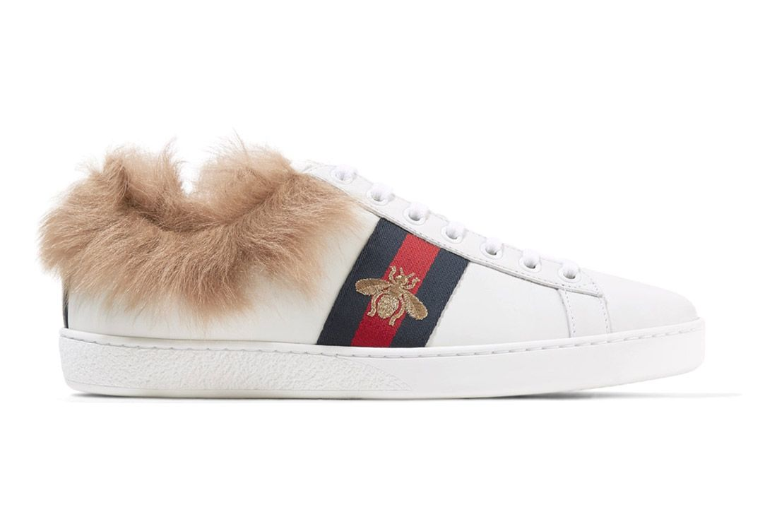 Gucci Ace Sneaker With Lamb Fur Sneaker Freaker 3