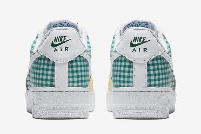 Nike Air Force 1 Gingham Pack Colour Heels