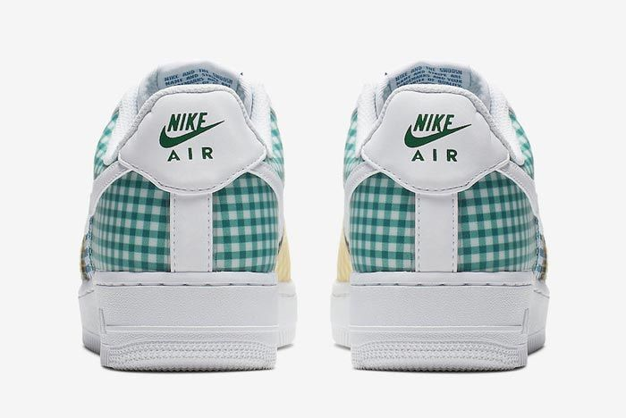 Nike Air Force 1 Gingham Pack Colour Heels