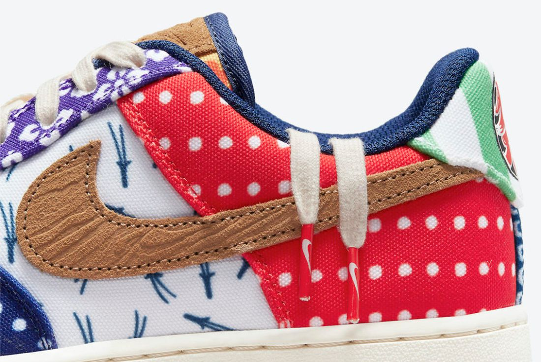 Official Pics: The Nike Air Force 1 Low 'Matsuri' is a Japanese ...