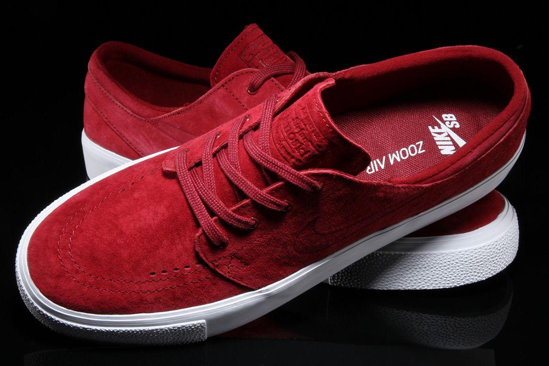 Nike Sb Zoom Janoski Premium Team Red