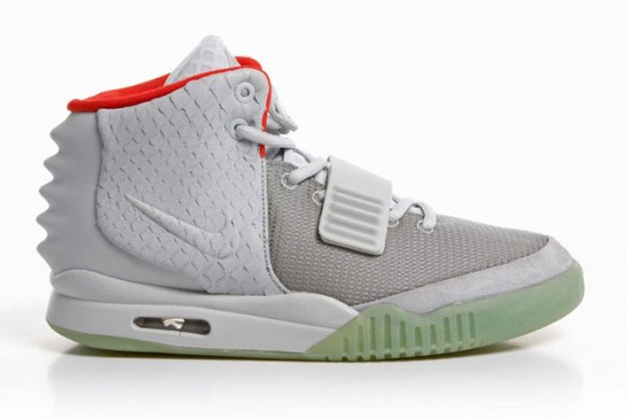 Nike Air Yeezy 2 Wolf Grey Pure Platinum