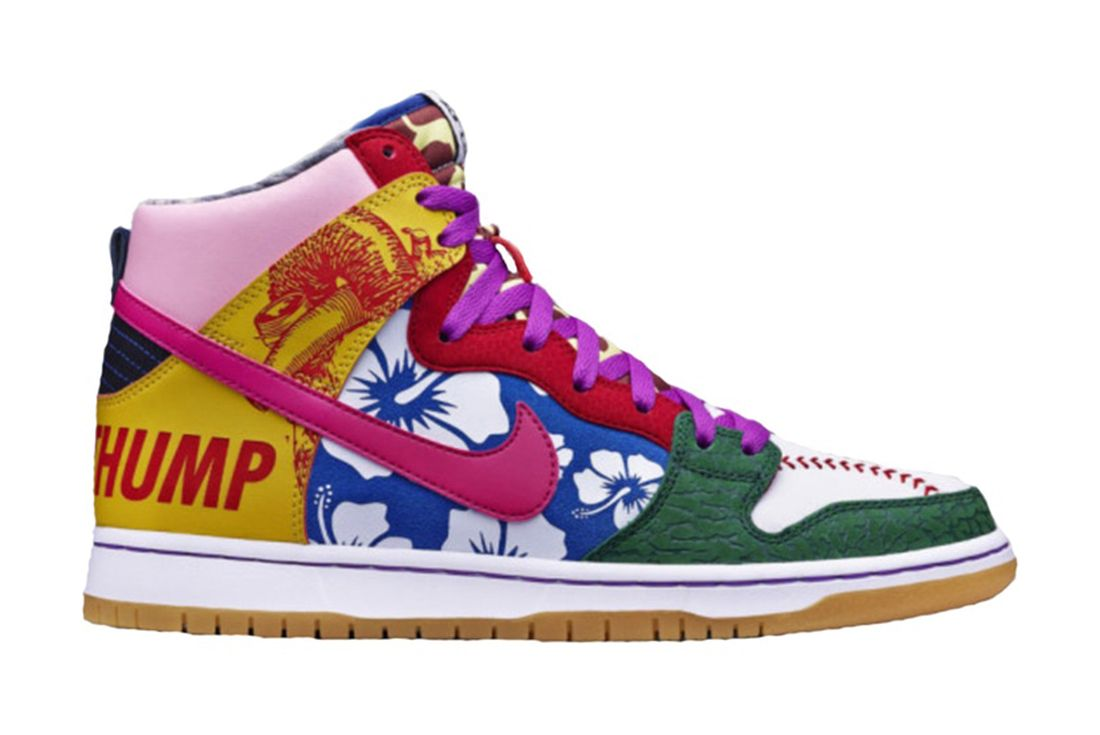 Nike SB Dunk High What the Doernbecher 2015 Right
