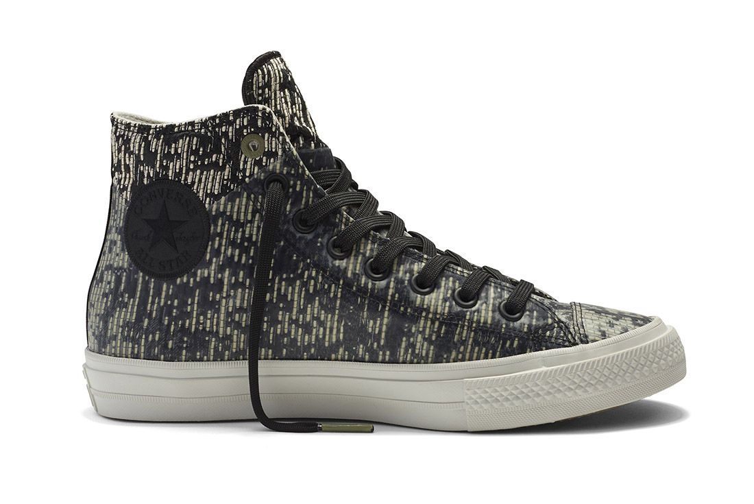 Converse Chuck Taylor All Star Ii Rubber Counter Climate Black White 1
