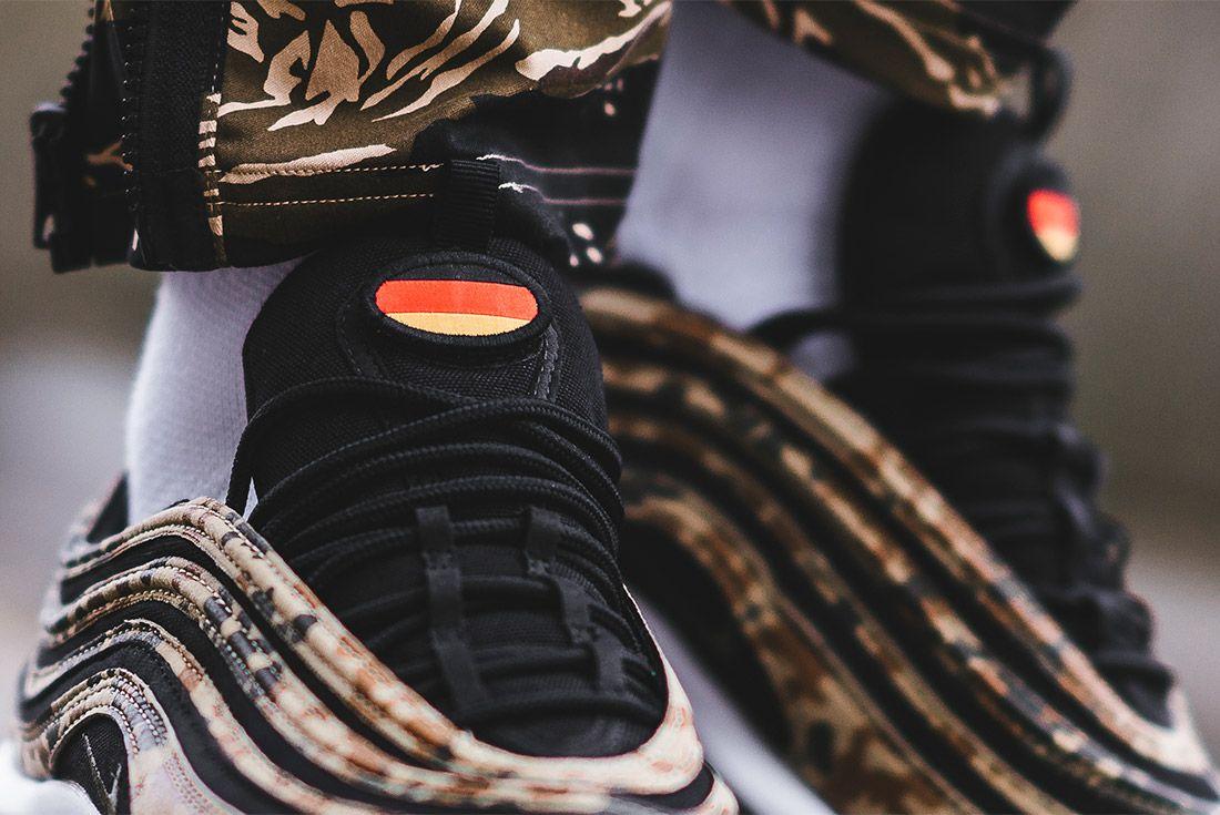 Country Camo Nike Air Max 97 Premium Qs Bamboo Black Dk Khaki Sequioa Aj2614 204 Sneaker Freaker 6
