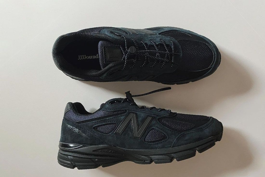 JJJJound New Balance 990v4 Detail