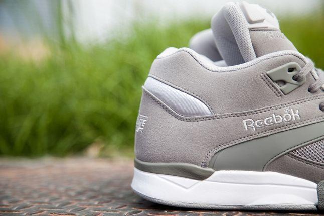 Reebok Court Victory Pump Grey Heel 1