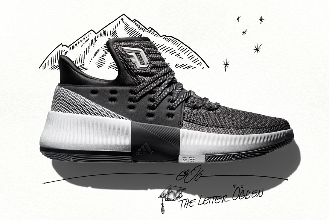 Adidas Dame 3 Wasatch Front 1