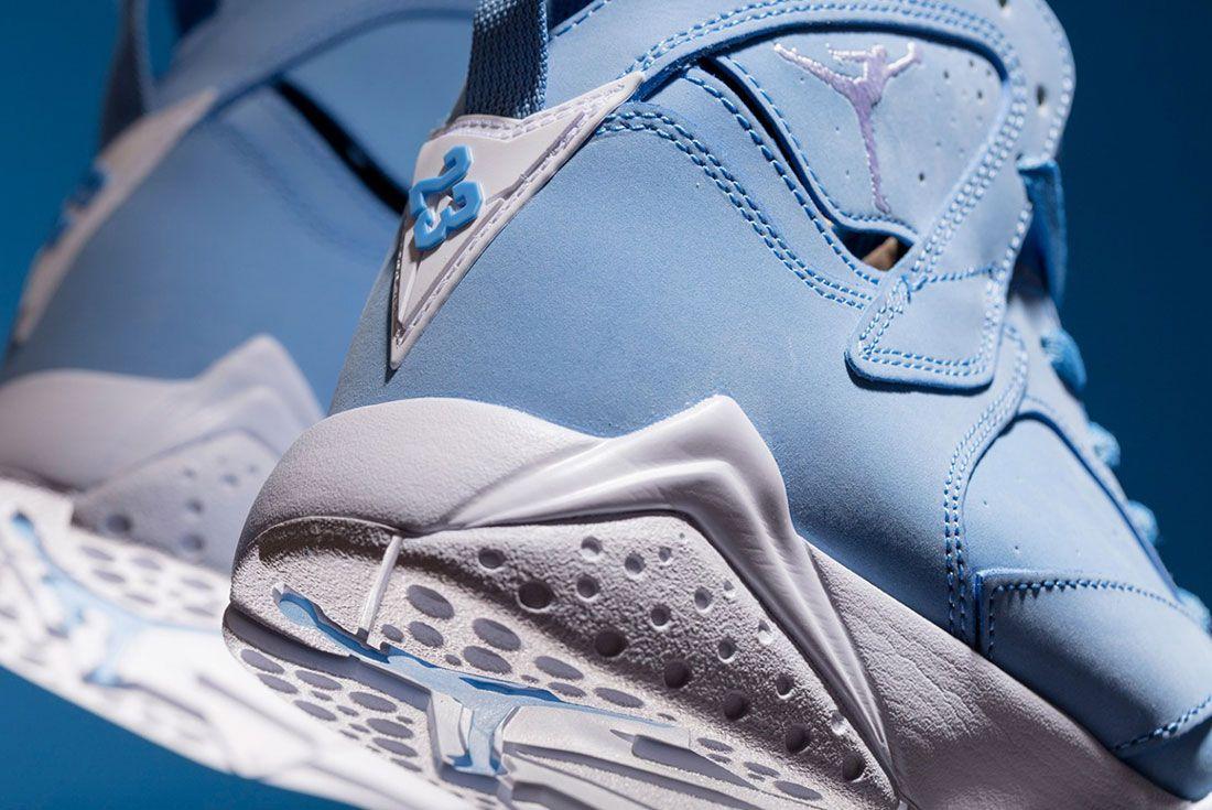 Air Jordan 7 University Pantone Blue 3