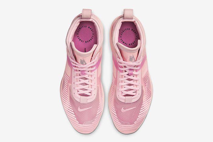 John Elliott Nike Le Bron Icon Tulip Pink Wolf Grey Active Fuchsia Top