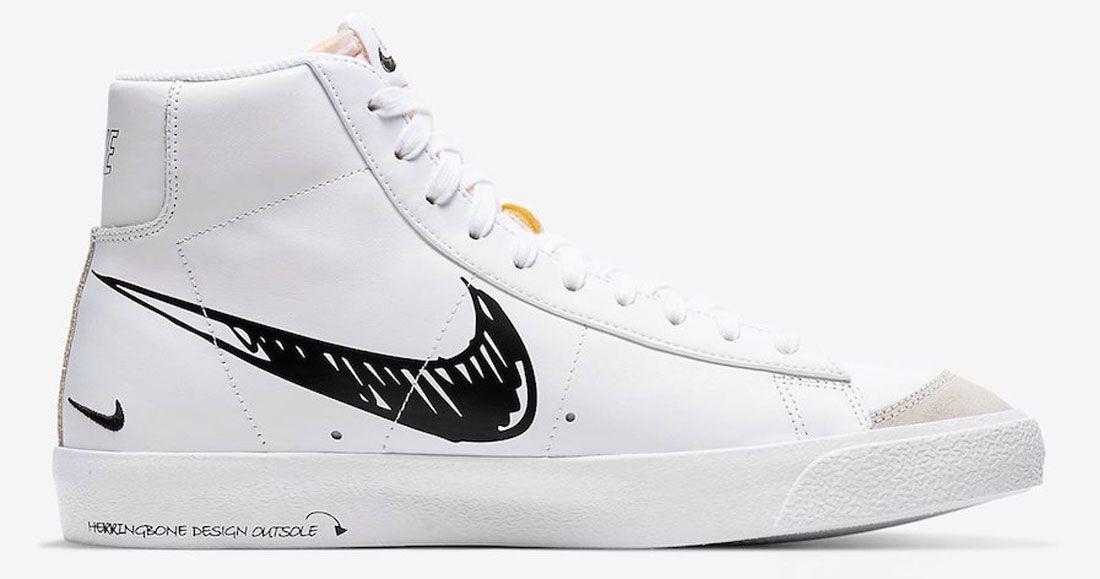 The Nike Blazer 'Sketch to Shelf' is on the Way - Sneaker ...