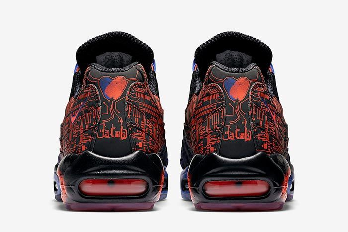 Nike Air Max 95 Doernbecher Heel Shot 5