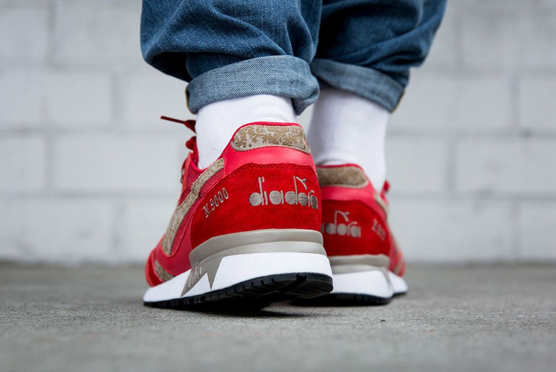 Diadora N9000 Made In Italy Red Bianco Sneaker Freaker 3A