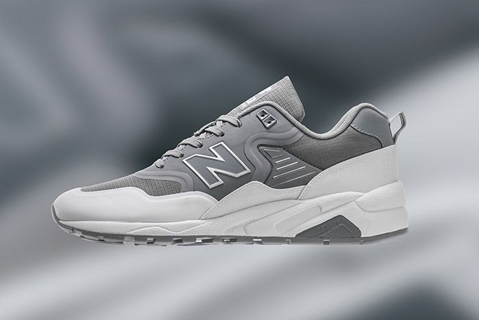 New Balance 580 Deconstructed Gunmetal Grey 1