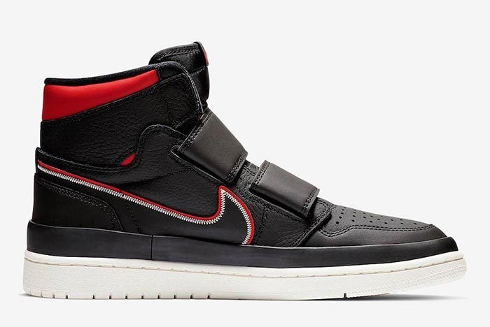 Air Jordan 1 Double Strap Red Black 3