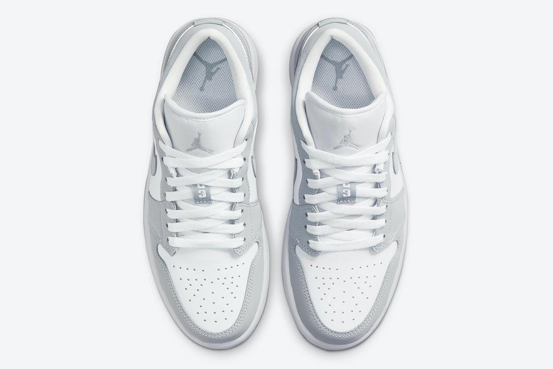 Air Jordan 1 Low 'Wolf Grey'