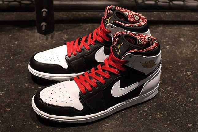 Air Jordan 1 Phat Road To The Gold 2 1