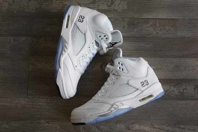 Jordan 5 White Metallic 5
