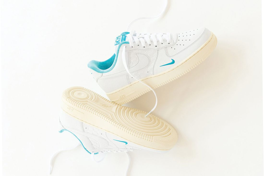 Kith x Nike Air Force 1 Low 'Hawaii' official