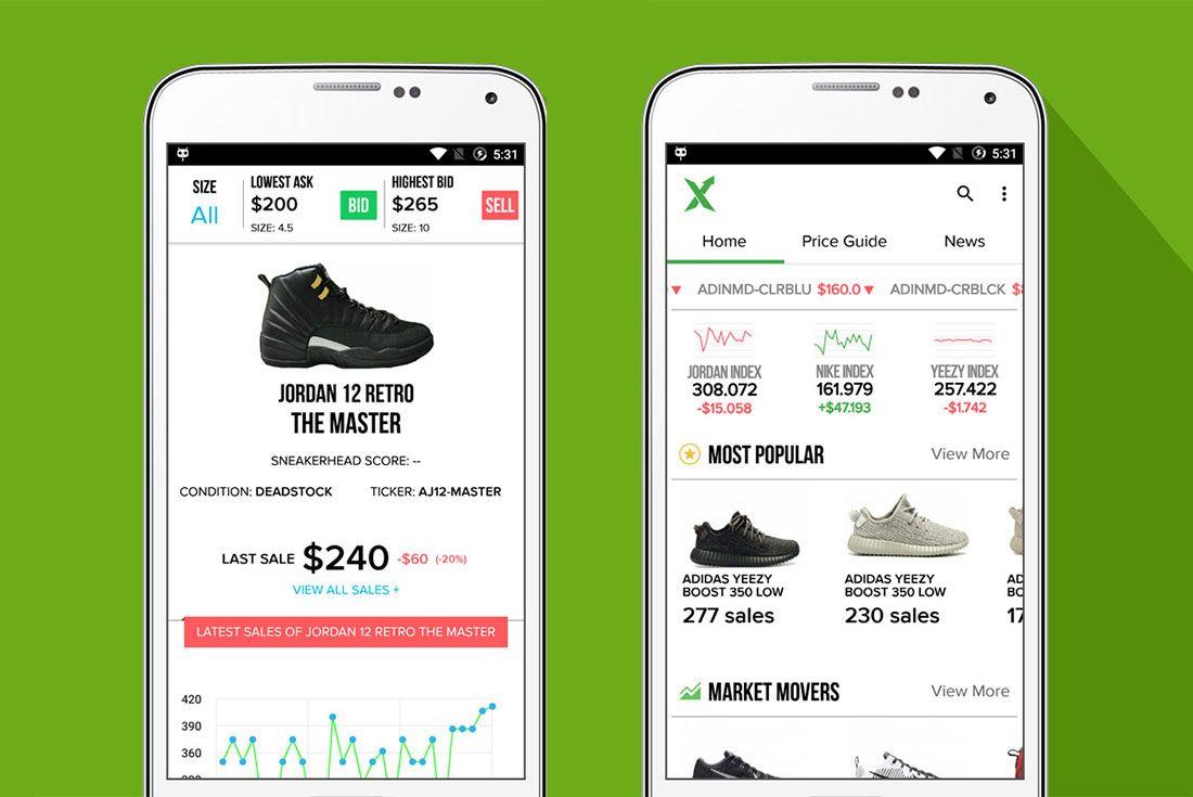 Stockx App Screens